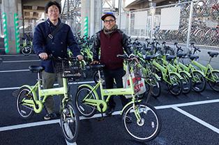 Suikaで乗れるSuicle(スイクル)で自転車を借りてサイクリング。レッツゴー! http://suicle.jp/